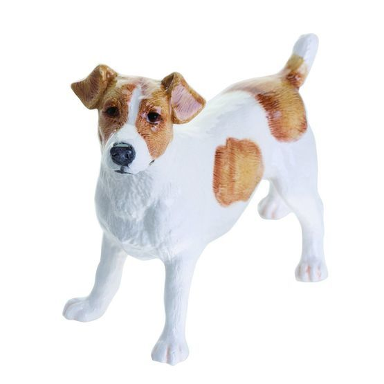 John Beswick Dogs - Jack Russell in Brown & White