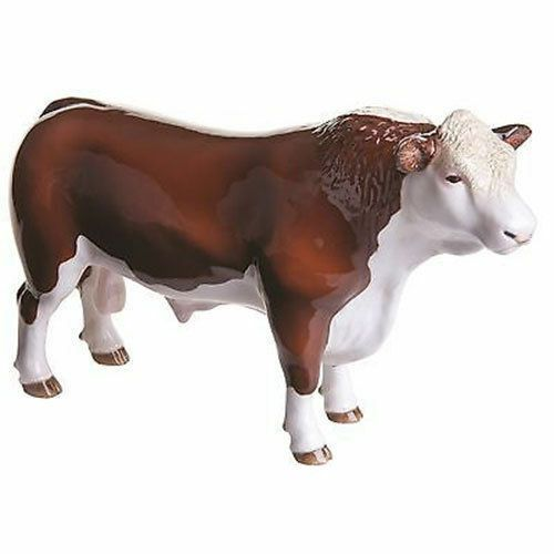 John Beswick Farmyard - Hereford Bull (Polled)