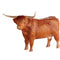 John Beswick Farmyard - Highland Cow