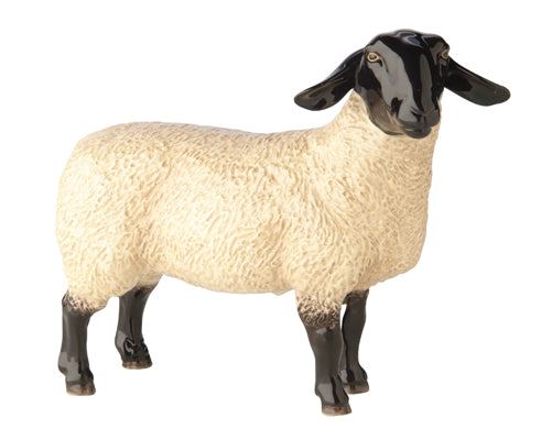John Beswick Farmyard - Suffolk Ewe