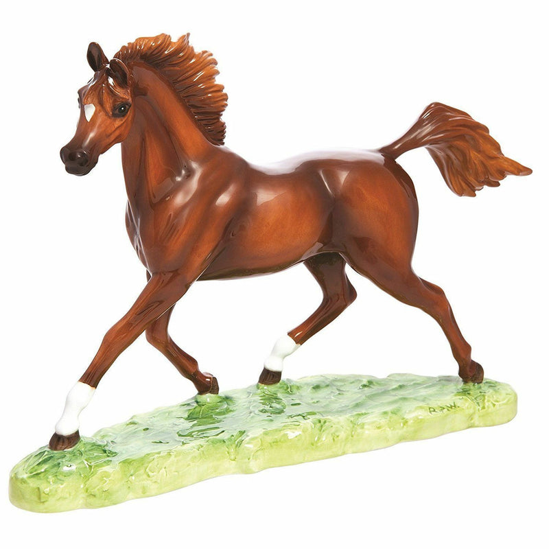 John Beswick Horses - Arab Stallion (Bay) Limited Edition of 250