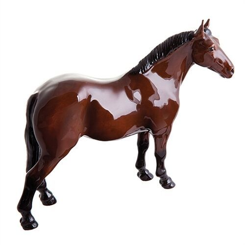 John Beswick Horses - Riding Pony (Dark Bay)