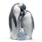 Lladro Penguin Family Figurine
