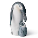 Lladro Penguin Love Figurine