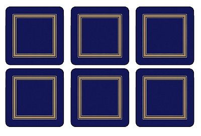 Pimpernel Classic Midnight Coasters Set of 6