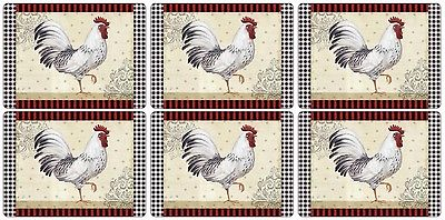 Pimpernel Country Touch Placemats Set of 6