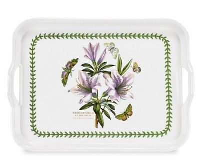 Pimpernel for Portmeirion Botanic Garden Melamine Handled Serving Tray Azalea - 15 inch