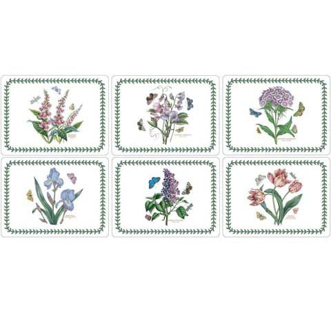 Pimpernel for Portmeirion Botanic Garden Placemats Set of 6