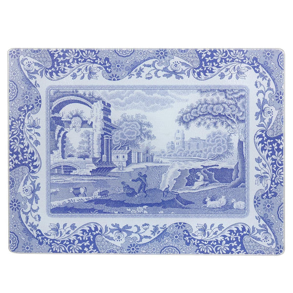 Pimpernel for Spode Blue Italian Glass Worktop Saver