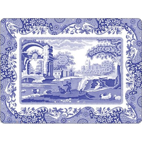 Pimpernel for Spode Blue Italian Placemats Set of 4