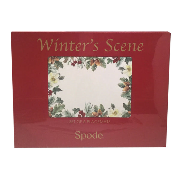Pimpernel for Spode Winters Scene Placemat Set of 6