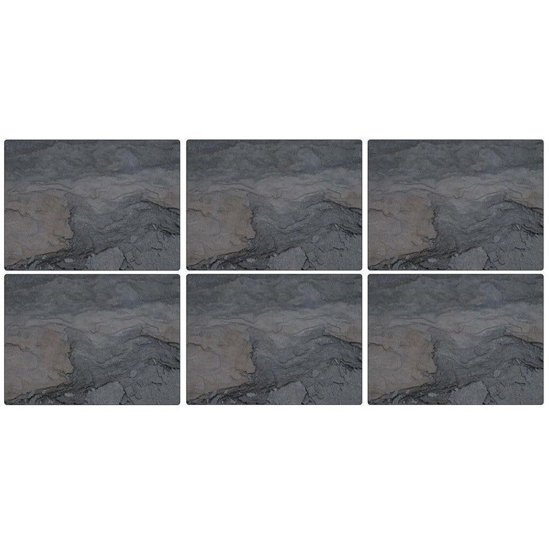 Pimpernel Midnight Slate Placemats Set of 6