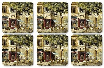 Pimpernel Parisian Scenes Coasters Set of 6