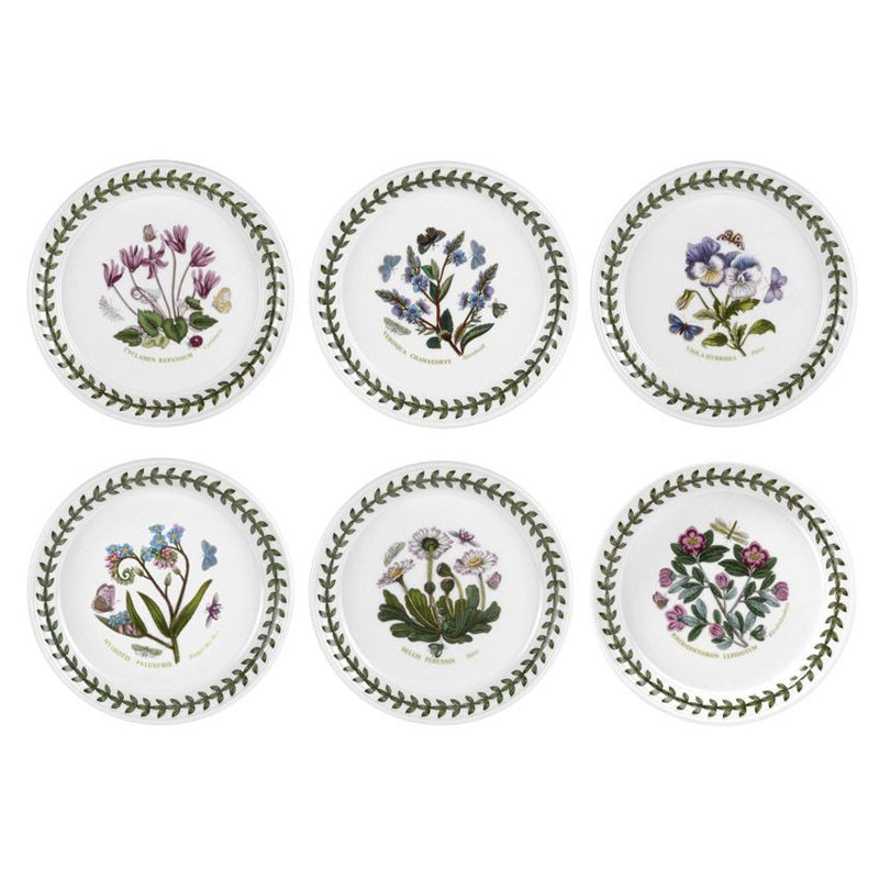 Portmeirion Botanic Garden Bread Plate (D) Set of 6