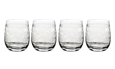 Portmeirion Botanic Garden Crystal Tumblers Set of 4