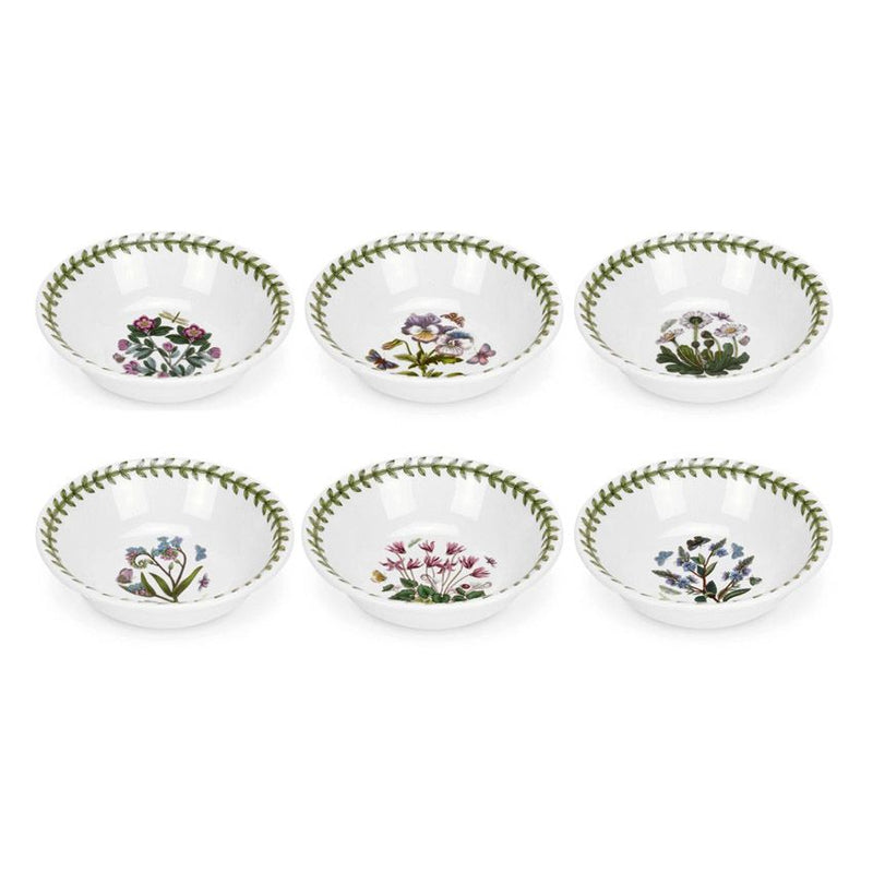 Portmeirion Botanic Garden Mini Bowl 13cm Set of 6