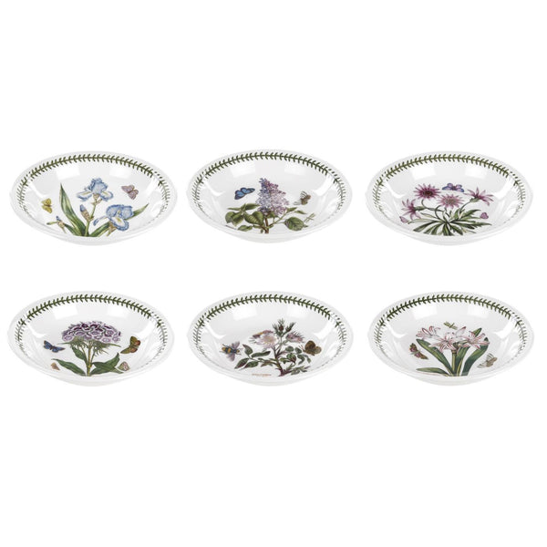 Portmeirion Botanic Garden Pasta Bowl 20cm Set of 6 (Foxglove)
