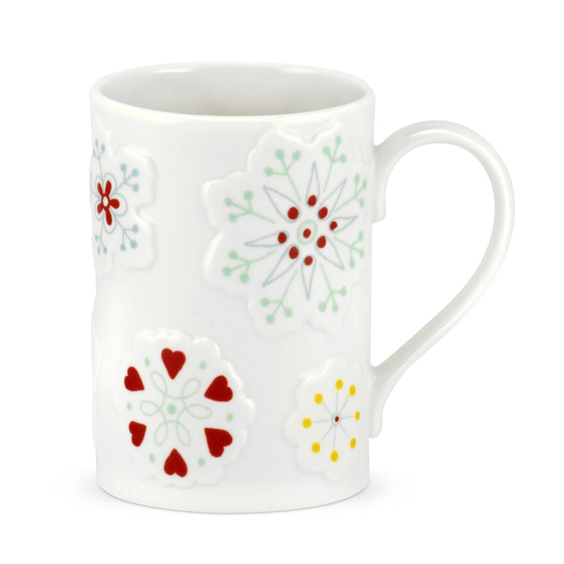 Portmeirion Christmas Wish Embossed Mug (Set of 4)