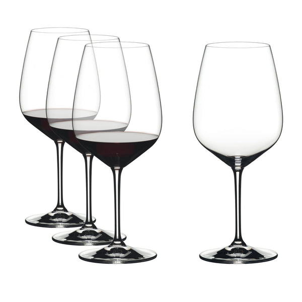 Riedel Vinum Extreme Red Wine Glasses - Set of 4