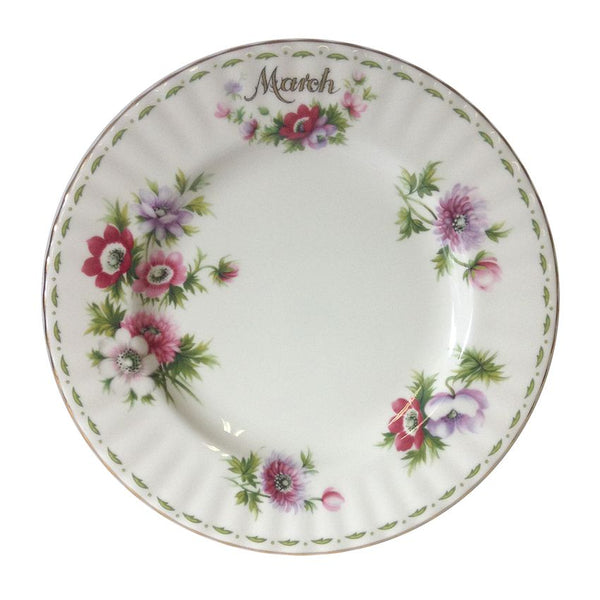 Royal Albert Flower of the Month March Plate 20cm