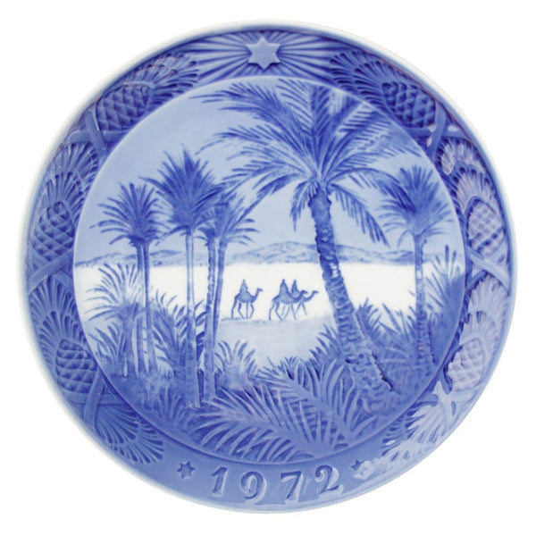 Royal Copenhagen Christmas Plate 1972 - In the Desert