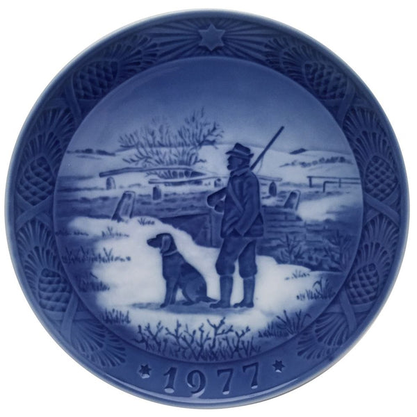 Royal Copenhagen Christmas Plate 1977 - Immervad Bridge