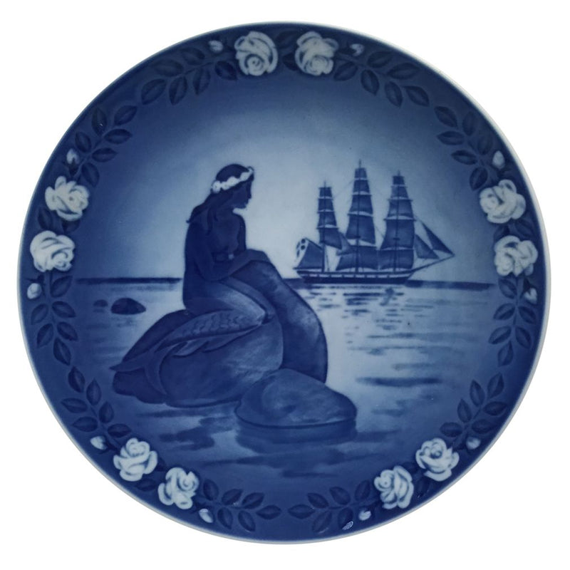 Royal Copenhagen Fairytale Plate 1985 - Hans Christian Anderson Little Mermaid