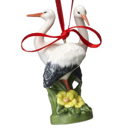 Royal Copenhagen Figurine 2009 - Storks Tree Ornament
