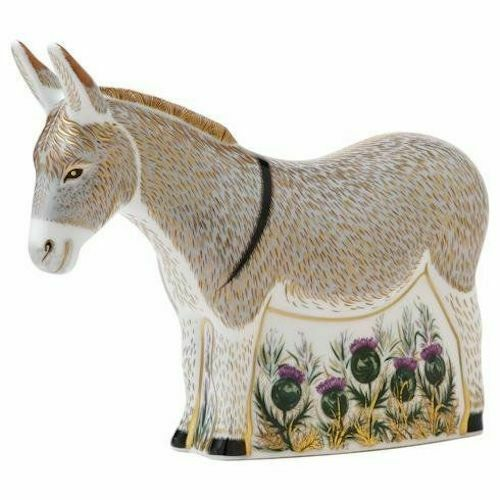 Royal Crown Derby Donkey Paperweight