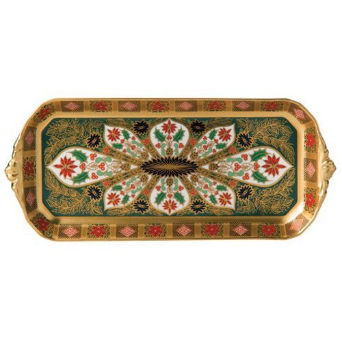 Royal Crown Derby Old Imari Holiday Sandwich Tray
