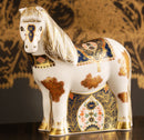 Royal Crown Derby Old Imari Solid Gold Band Shetland Pony Paperweight - Limited edition of 500