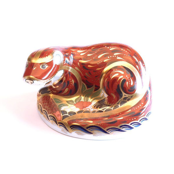 Royal Crown Derby Otter Paperweight (no box)