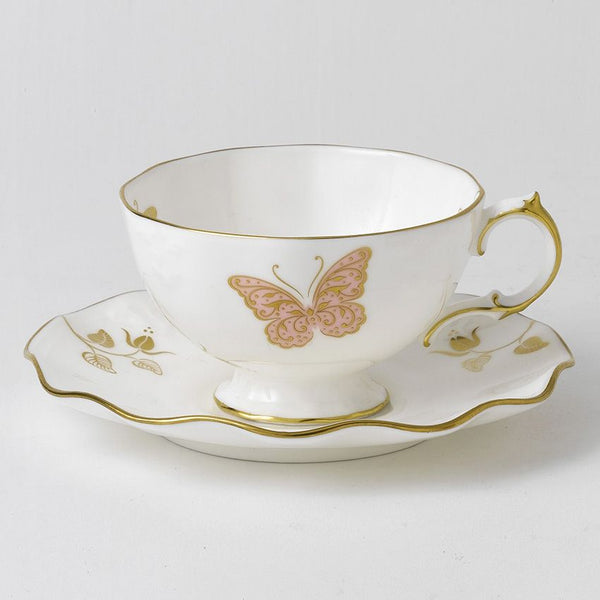 Royal Crown Derby Royal Butterfly Tea Cup & Saucer