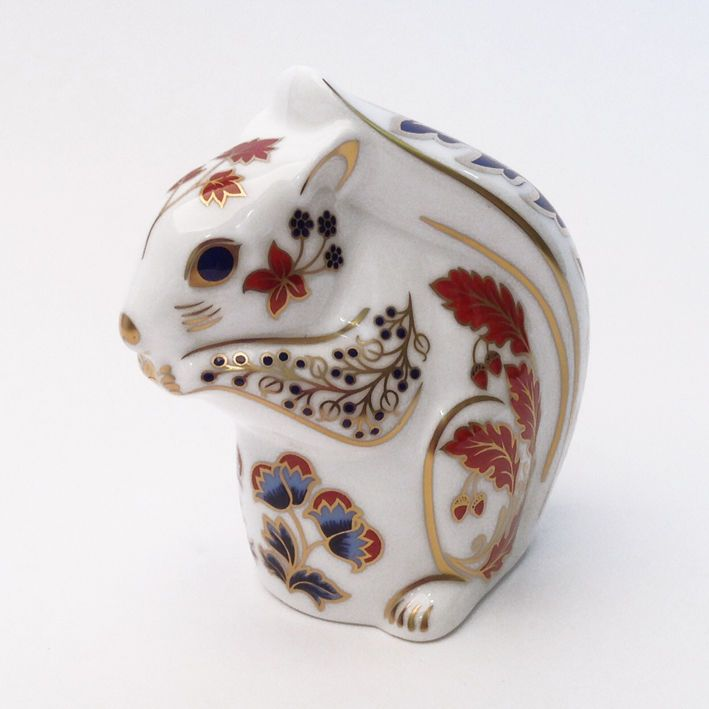 Royal Crown Derby Squirrel Paperweight