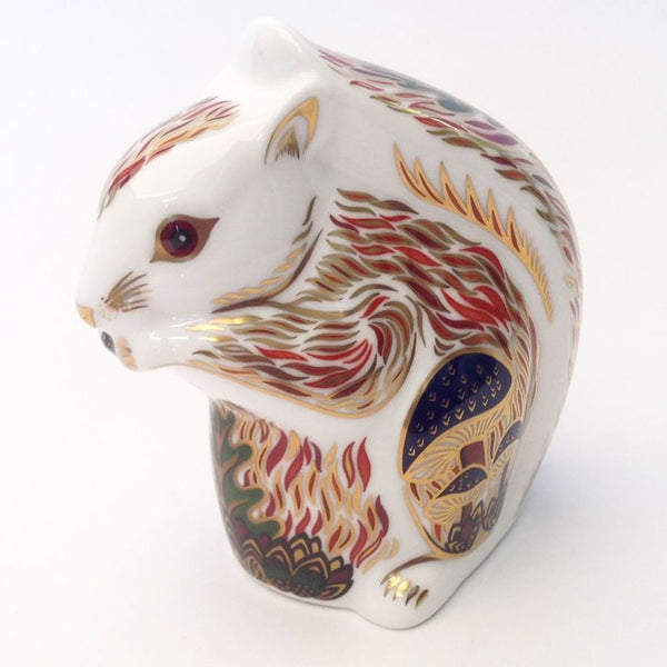 Royal Crown Derby Stoney Middleton Squirrel Paperweight - Limited Edition