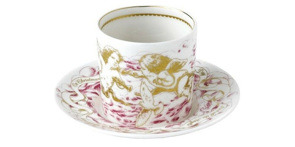 Royal Crown Derby Tea Light Set - Bright Lights Pink