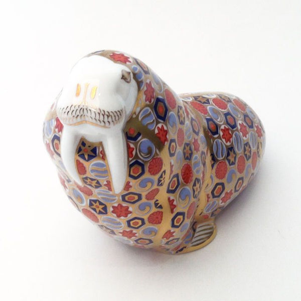 Royal Crown Derby Walrus Paperweight