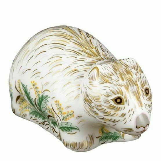Royal Crown Derby Wombat Paperweight
