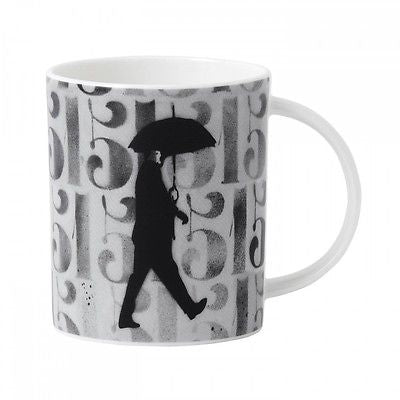 Royal Doulton Street Art Numbers and Figures Mug by Nick Walker