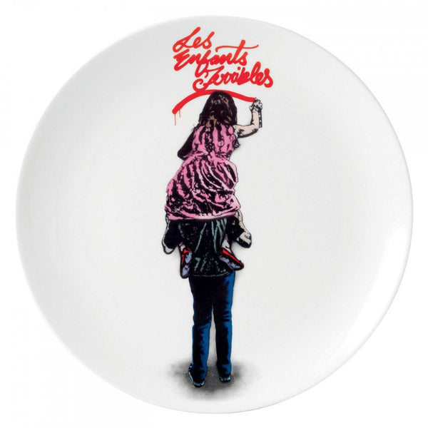 Royal Doulton Street Art Plate - Les Enfants Terrible by Nick Walker (Limited Edition of 2000)