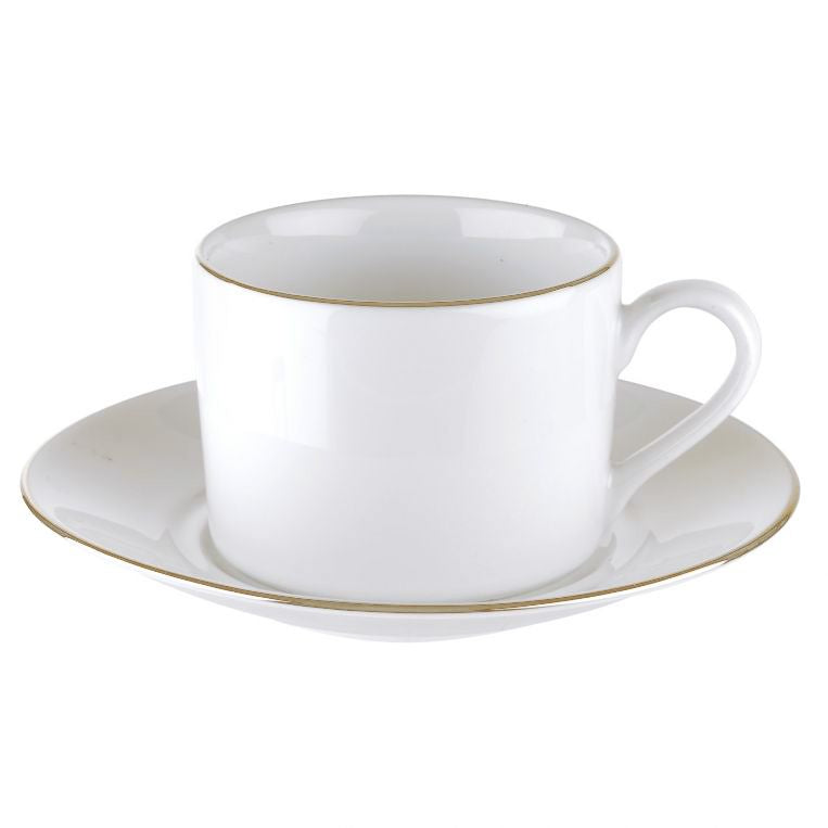 Royal Worcester Classic Gold Tea Cup & Round Saucer