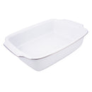 Royal Worcester Classic Platinum Rectangular Handled Dish 30 x 23.5cm