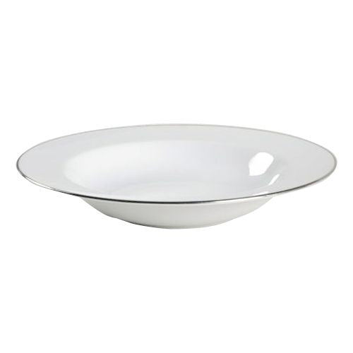 Royal Worcester Classic Platinum Rimmed Soup Bowl 23cm