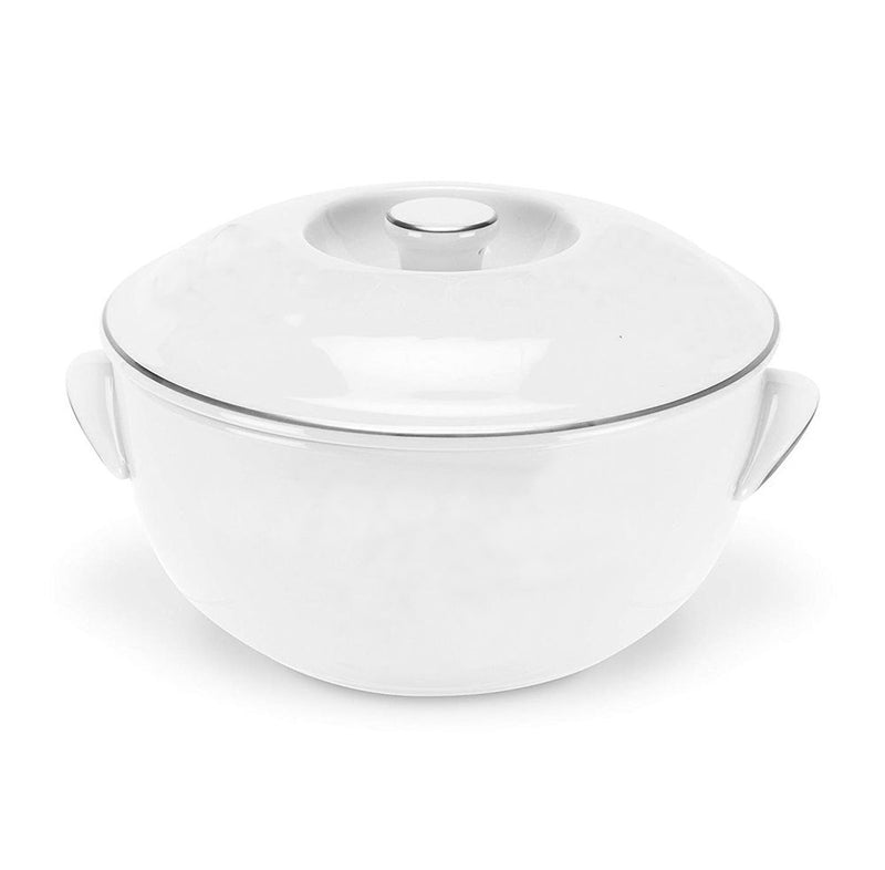 Royal Worcester Classic Platinum Round Covered Deep Dish 1.1 ltr