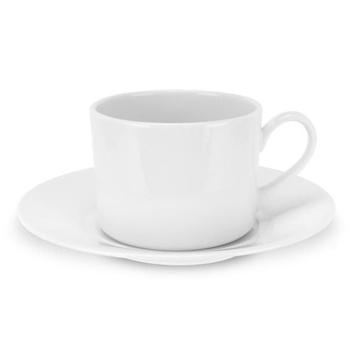 Royal Worcester Classic White Tea Cup & Round Saucer