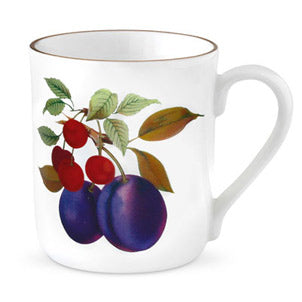 Royal Worcester Evesham Gold Mug Plum & Cherry