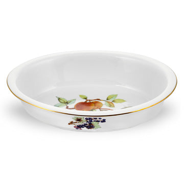 Royal Worcester Evesham Gold Oval Serving Dish