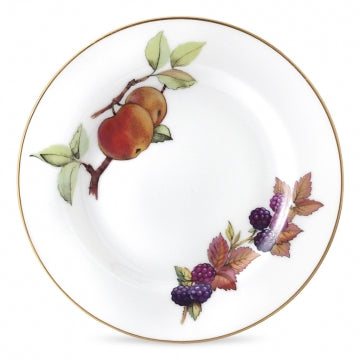Royal Worcester Evesham Gold Plate 17cm