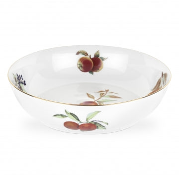 Royal Worcester Evesham Gold Serving Bowl