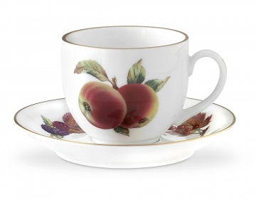 Royal Worcester Evesham Gold Tea Cup & Saucer